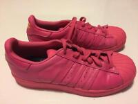 Adidas superstars pink Pharrell Williams size 5.5
