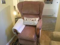Royams Rise & Recline chair (NO VIEWING 23-26/11)