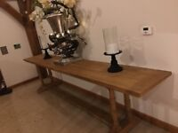 Beautiful Solid Oak High Quality table. 3.5m. Bristol Area BS3.