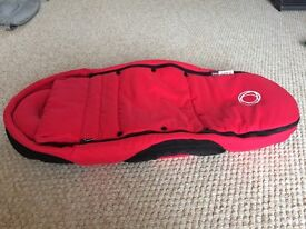 Bugaboo bee cocoon -red, good condition, £30