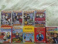 Large Bundle of Fireman Sam DVDs