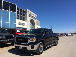 2015 GMC Sierra 1500 Crew 4X4, Bluetooth, Cam, Class IV Hitch