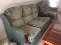 2 x 3 seater sofa. 2 x 1 seater sofa