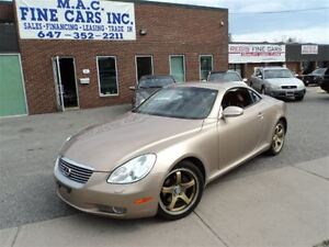 2002 Lexus SC 430 CERTIFIED & E-TESTED
