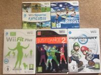 Used Nintendo Wii games console and Wii Fit board