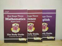 CGP-KS3 Maths/Science/English-HL Study Guide