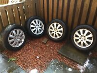 Mercedes alloys from an A170 15inch
