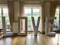 ***5ft LOVE letters to hire***
