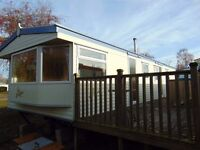 Pre-owned Atlas Everglade Static Caravan Holiday Home For Sale In Ripon