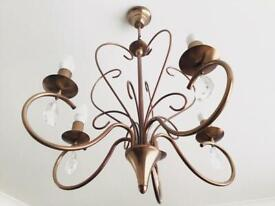 5 light chandelier light fitting