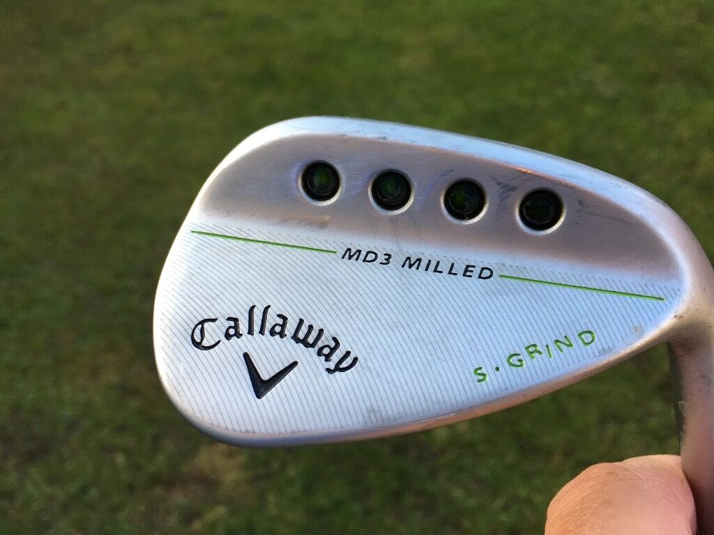 Callaway Mack daddy wedges