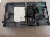 BOSCH PSR 9.6 VES-2 CORDLESS BATTERY DRILL FOR SPARES OR REPAIR