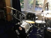Black CB drum set