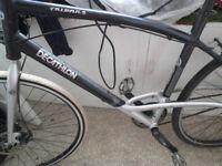 Triban 5 Decathlon -hybrid road bike - single gear