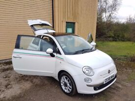 Fiat 500 1.3 Multijet Lounge 3dr p/x welcome HPI CLR*JUST SERVICED*2 KEYS