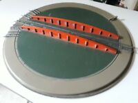Hornby Doublo 00 train turntable (collector item ) used condition £49.99