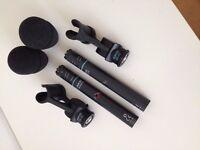 AKG C391B Microphones- Pair