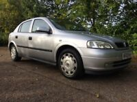 Vauxhall Astra 1.4 i 16v LS 5dr, 2003 (03 reg), Hatchback 2 keepers from new. 6 service stamps,