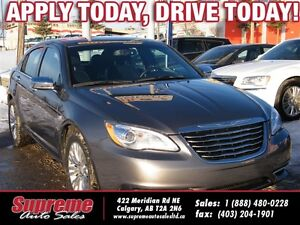 2012 Chrysler 200 LIMITED H.SEATS/R.START/LEATHER/NEWTIRES