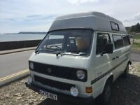 VW T25 Hightop Camper Van