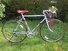 Vintage Retro PUCH 10 speed Road bike,56cm  frame,weinman Dual brakes,700c wheels/mudguards