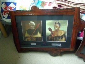 TWO MAORI PICTURES