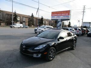 2010 Mazda MAZDA6 GT ***SUNROOF,LEATHER,Tinted glass***