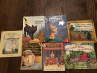 mix of 7 children's books ages 5-7
