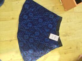 NEW Zara designer skirt size 10