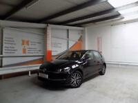 Volkswagen Golf SE NAVIGATION TSI BLUEMOTION TECHNOLOGY DSG (black) 2017-10-02