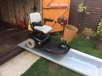 Shoprider 3 wheeler mobility scooter . Comfy soft ride . Reliable - just £290 . Great working order