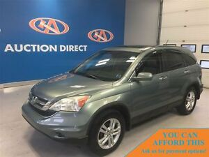 2010 Honda CR-V EX-L AWD! LEATHER! FINANCE NOW!