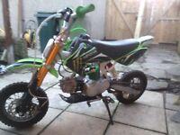 Bran new monster pit bike 90cc
