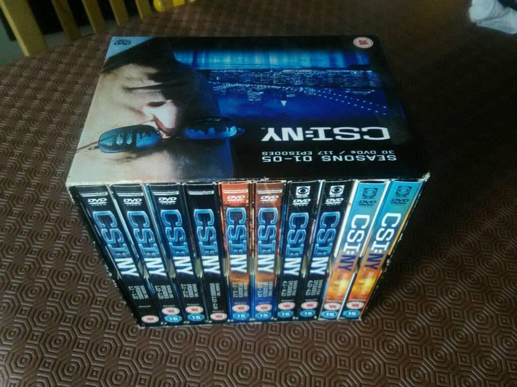 CSI New York Seasons 1 - 5 Boxset