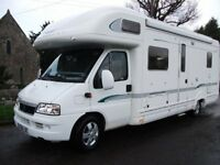 BESSACARR QUALITY 6 BERTH, FIXED BED 2006 MOTORHOME,LOW MILEAGE,GREAT LAYOUT,SUPERB**