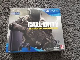 Ps4 with game brand new