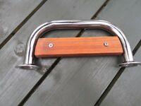 Stainless Steel Teak Boat Step