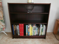 Bookcase - mahogany veneer, excellent condition