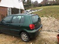 VW Polo 1.4 Match Green 67000 Miles 1 Years MOT
