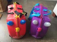 Trunki Wheelie Cases x 2