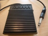 original foot switch ( sustain padel ) for any yamaha keyboard,excellent condition,stanmore,middx...