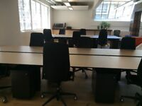 Techo Office Desks 1500x800