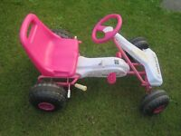 Childrens Pedal Powered Go Karts good condition