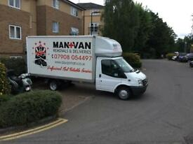 Man and Van Removals clearance and Deliveries nationwide and Europe removals Barking-Dagenham