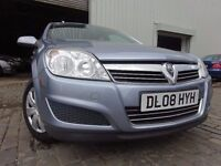 08 VAUXHALL ASTRA 1.4,MOT APRIL 017,2 OWNERS FROM NEW,PART SERVICE HISTORY,2 KEYS,STUNNING EXAMPLE