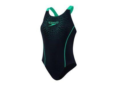 Speedo Damen Badeanzug 8-096899690 Schwarz Gr. 38 Schwimmen Sport Neu