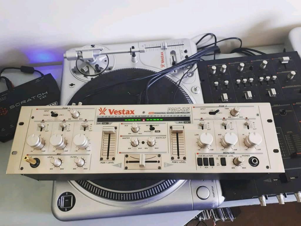 Vestax PMC-25 Rotary Isolating EQ DJ Mixer - V Good Condition | in  Stockbridge, Hampshire | Gumtree