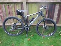 FOCUS CYPRESS PRO 17 inch MTB FULL SUSPENSION MOUNTAIN BIKE - MADE IN GERMANY