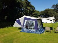 Camp-let trailer tent as new