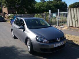 2012 Volkswagen golf s tdi 1.6 full service history 5 dr grey long mot DRIVES well vgc